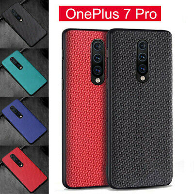 For OnePlus 7/7 Pro Phone Case Cover Skin Shockproof Anti-Abrasion Carbon Fiber