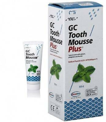 GC TOOTH MOUSSE PLUS TOPICAL TOOTH CREME MINT FLAVOUR 1 PACK OF 40gm
