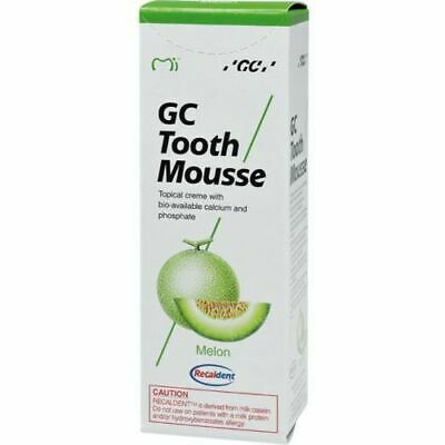 GC TOOTH MOUSEE TOPICAL CREME MELON FLAVOUR 40gm PACK