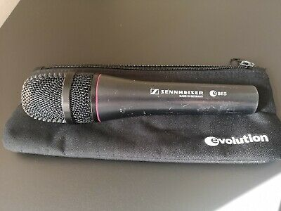 Sennheiser e865 Electret Condenser Live Vocal Microphone - great condition