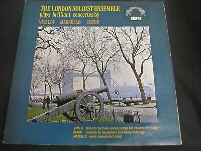 Classical Record THE LONDON SOLOIST ENSEMBLE PLAYS BRILLIANT CONCERTOS (61)3