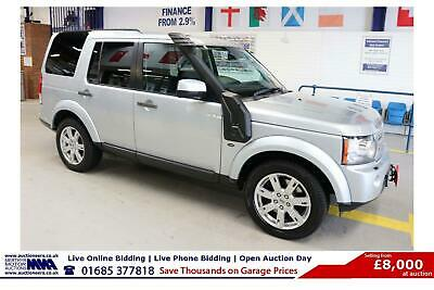 2011 - 11 - Land Rover Discovery 4 3.0Sdv6 Auto 7 Seat 4X4 (Guide Price)