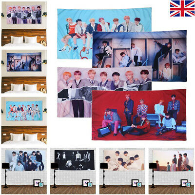 KPOP BTS LOVE YOURSELF Wall Hanging Tapestry Beach Towel Home Dorm Decor US