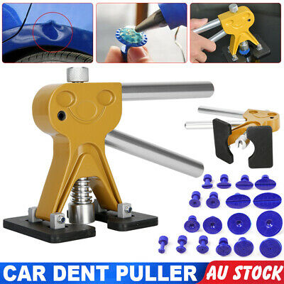 Car Paintless PDR Dent Puller Slide Hammer Removal Repair Tabs Tool Hail Kits AU