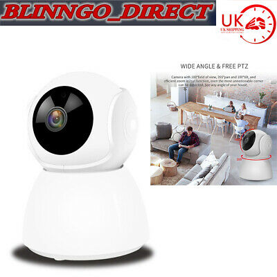 UK Wireless 1080P Wifi IP Camera IR Night Baby/Pet Monitor CCTV Security Webcam