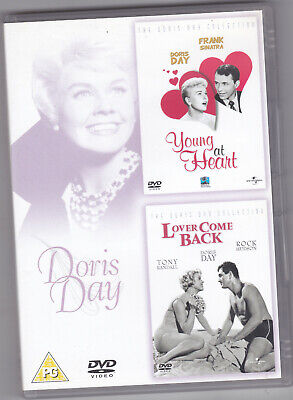 RARE DVD Doris Day Young at heart / Lover come back