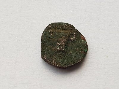 KINGS OF THRACE,VERY RARE THRACE COIN,,,Uncertain king AΔ circa 405-340 BC.AE