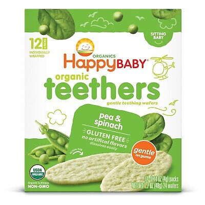Happy Baby Crackers And Biscuits Baby Food - 1.7oz