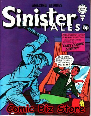 Sinister Tales #122 (1972) 1St Print Uk Silver Age Alan Class Bagged & Boarded