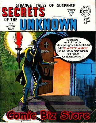 Secrets Of The Unknown #117 (1966) 1St Printing Uk Silver Age Alan Class