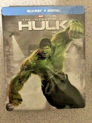 Marvel The Incredible Hulk Steelbook (Blu-ray/Digital Copy, 2018) Factory Sealed