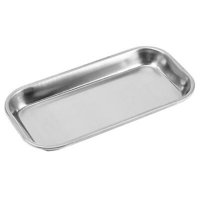 201 Stainless Steel Dental Lab Tray Medical Surgical Dish Instrument Tool Useful