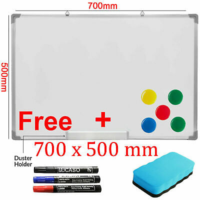 900 x 600mm Dry Wipe Magnetic Whiteboard Office School Home Notice Drawing Board