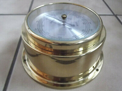 Dekoratives Altes Barometer  Made In Western Germany #7580