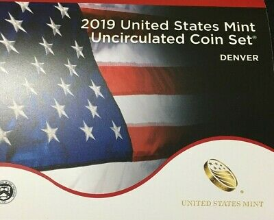 2019 US Mint Annual Uncirculated Coin Set - Without W Cent      READY TO SHIP