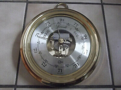 "Dekoratives Altes Schiffs-Barometer ""Barigo"" Made In Germany  #7583"