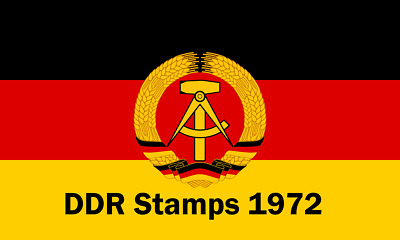DDR / East Germany Stamps 1972