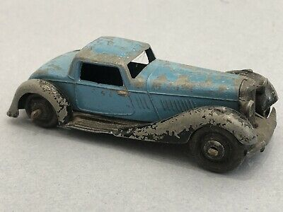 Vintage Dinky Toys Early Rolls Royce Rare  Model Car Meccano England Classic