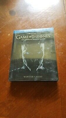 Game of Thrones The Complete Seventh Season (Blue-ray, 2017) Free Shipping