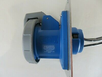 Hubbell 360R6W Receptacle 60Amp 250Vac 223A Wet Damp Locations