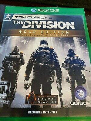 Tom Clancy's The Division Gold Edition Xbox One NO Season Pass NO DLC