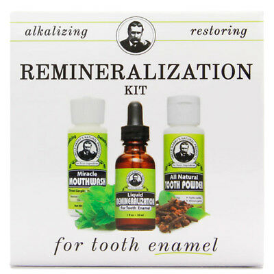 Tooth Enamel Remineralization Kit by Uncle Harry's Natural Products (3pcs Kit)