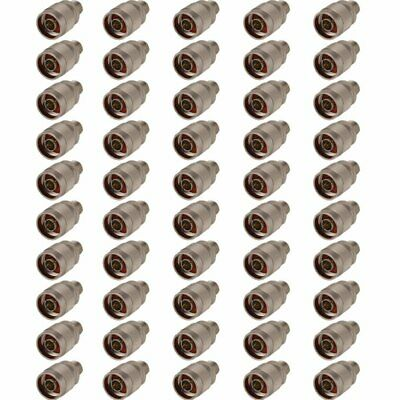 50 Pack of RP TNC Female to N Type Male Adaptor