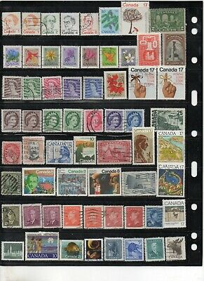 Canada Used  Stamps (Item 1988)
