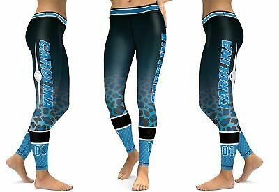 a44416bf Carolina Panthers Leggings Small-XXL (0-14) Football Fan Gift Game Gear