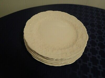 """Set of 6 POPE-GOSSER """"Rose Point"""" Lunch 9"""" and 6 Bread and Butter Plates 6 3/8"""""""