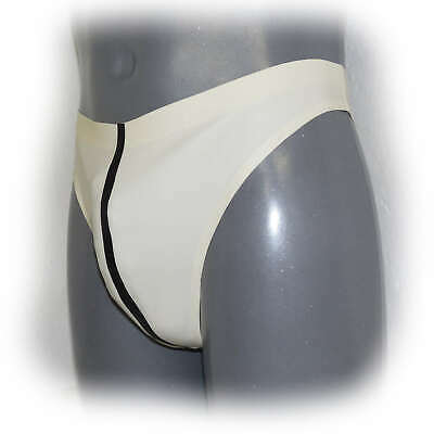 Latex String for men Pouch Handmade Size L (3524)