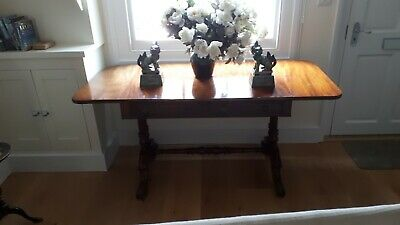 Regency Style Mahogany Sofa Table Extending Drop Leaf