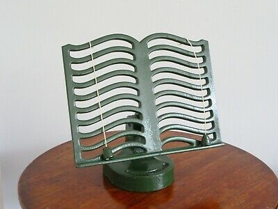 Classic Robert Welch Cook Book Stand Dark Green Enamelled Cast Iron For Victor