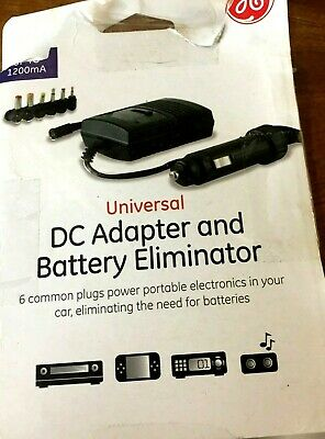 universal dc adapter and battery eliminator