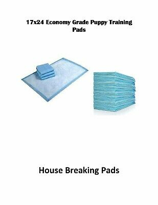 """900-17x24"""" Economy Grade Puppy Piddle House Breaking Pee Pads"""