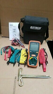 EXTECH 382252 Earth Resistance Tester Complete!