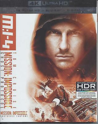 Mission Impossible Ghost Protocol (4K Ultra Hd/Bluray)(3 Disc Set)(Used)