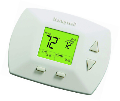 HONEYWELL RTH5100B 1025 Deluxe Manual Thermostat - $39 97