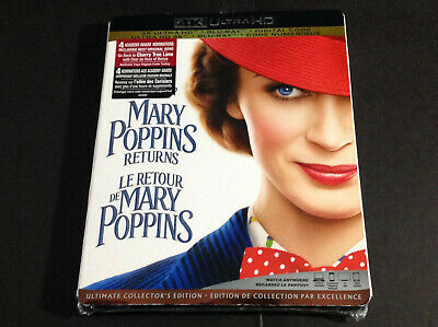Disney - Mary Poppins Return ( 4K Ultra Hd + Blu Ray ) Ultimate Collector's Edit