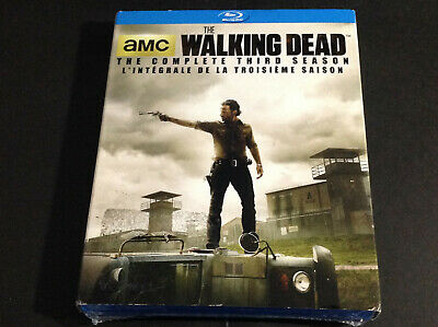 The Walking Dead The Complete Third  Season 3 ( Blu Ray )