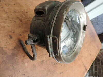 Lucas 462 Karbid scheinwerfer Acetylene Light carbide Lampe lamp vintage bike