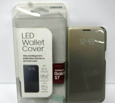Samsung LED wallet cover for Samsung Galaxy S7. FREE SHIPPING