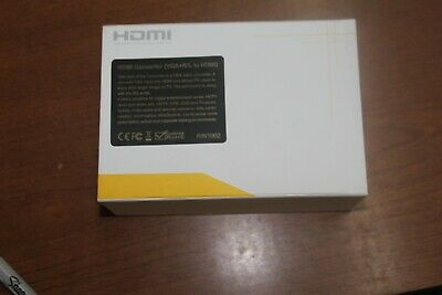HDMI MONOPRICE HDC-VAH Converts VGA /& Audio to HDMI  Mint Condition