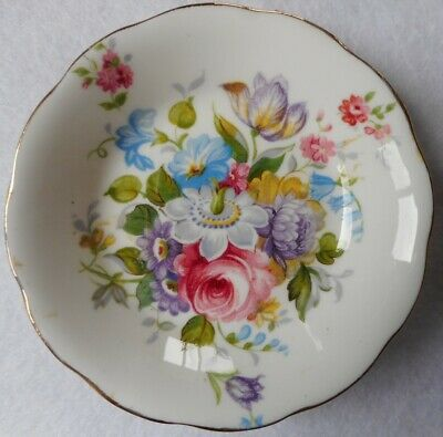 Vintage Grafton England China Jam/Pin Dish