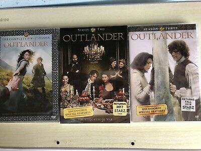Outlander Series 1 2 3 DVD Set 1-3 Complete Season One Two Three and Brand New
