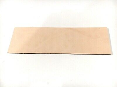 2mm thick Leather OffCuts 20 by 6cm off cut TOOLING Veg Remnants Strop RATS BUM