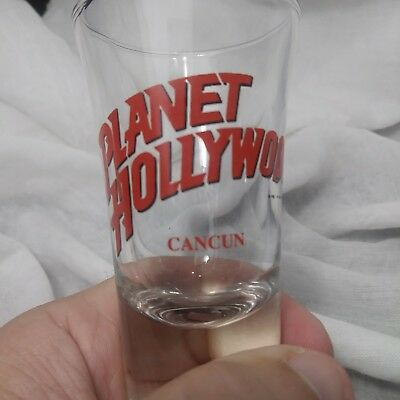 Free Shipping Planet Hollywood Cancun Mexico Tall Shot Glass
