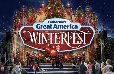 California's Great America Tickets Promo Save Discount Meal + Park + Winterfest