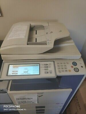 SHARP MX-3500N Multifunction Unit Will be Disposed of After the 17th of June