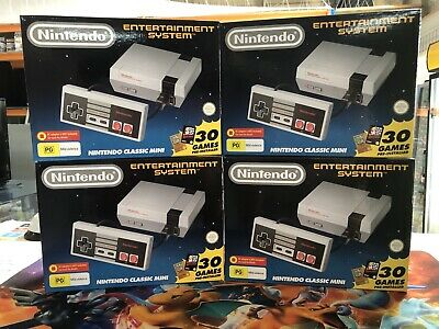 Brand New Genuine Nintendo Classic Mini NES 30 Games Pre Installed - Retro